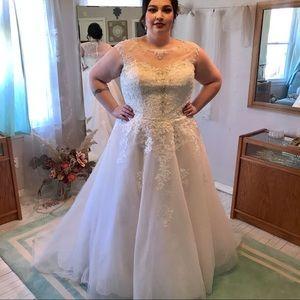 DREAM DRESS for a  🔥 Curvy Bride!